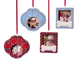 Ceramic Photo Frame Ornament