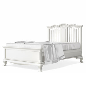 Full Bed Open Back Solid White