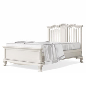 Full Bed Open Back Bianco Satinato