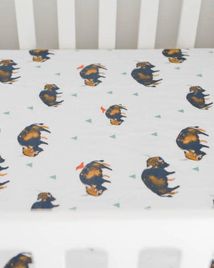 Percale Crib Sheet