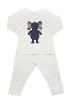 Ragdoll Navy Elephant 2PC Set