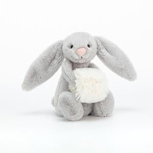 Bashful Grey Snow Bunny, Small