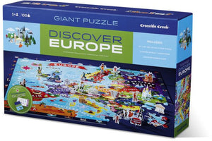 Discover 100PC Puzzle - Europe