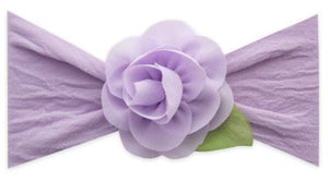 Headband: Rosette Leaf, Light Orchid