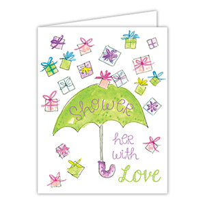 Card - Shower Her With Love