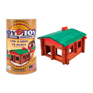 Roy Toy Mini Cabin Playset