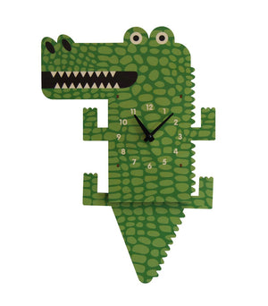Pendulum Clock, Alligator