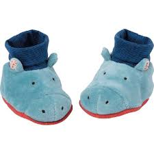 Hippo Baby Slippers