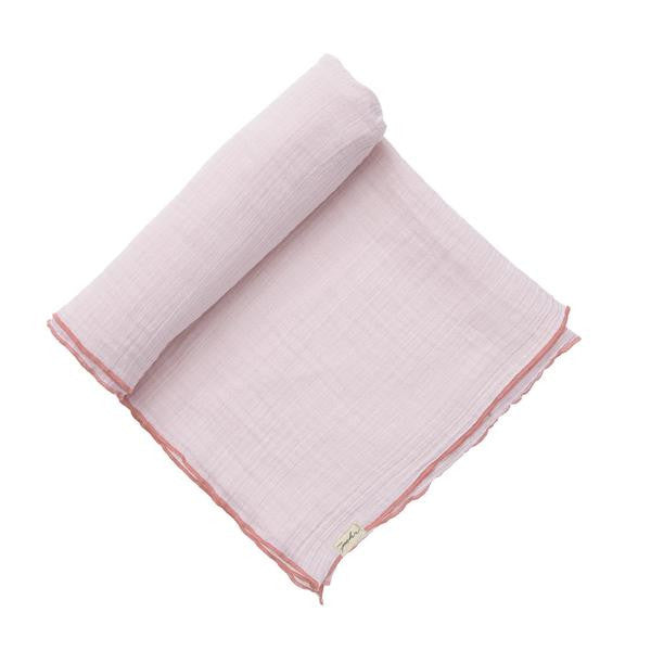 Solid Color Swaddle - Light Pink