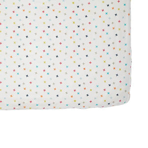 Rainbow Jacks Crib Sheet