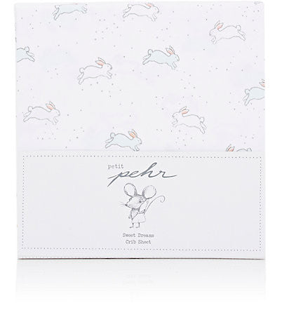 Bunny Crib Sheet - Just Hatched