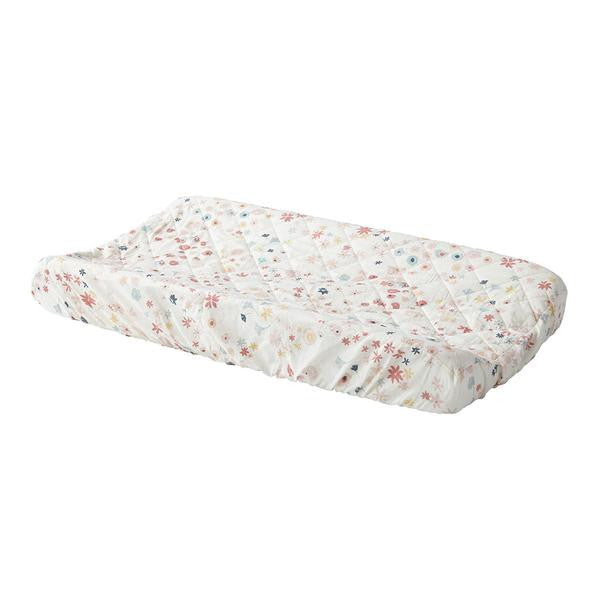 Meadow Quilted Changing Pad Cover
