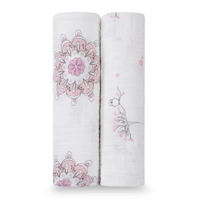 Classic Swaddles 2PK - For The Birds