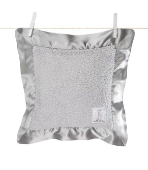 Chenille Pillow, Silver