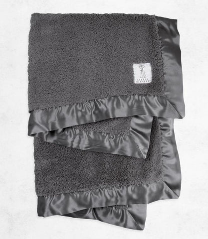 Chenille Blanket - Charcoal