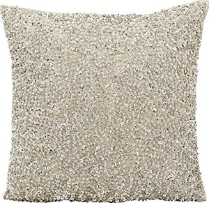 Throw Pillow Sequins & Beads