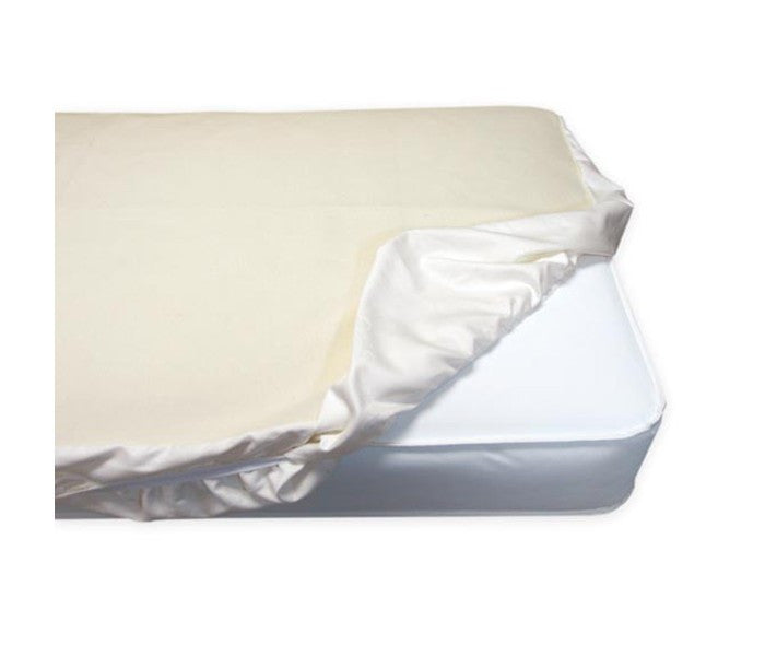 Organic Cotton Fitted Waterproof Crib Pad PC63W
