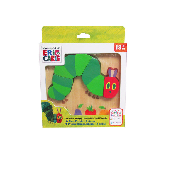 The Very Hungry Caterpillar and Friends - My First Puzzle - Eric Carle