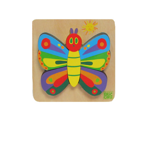 The Very Hungry Caterpillar And Friends- My First Butterfly Puzzle