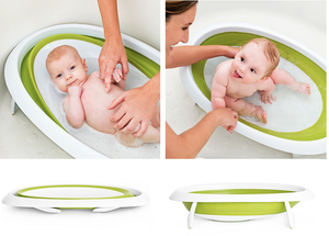 Naked 2 Position Collapsible Bathtub