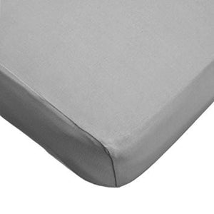 Jersey Knit Crib Sheet - Gray