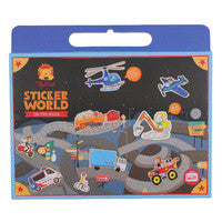 Sticker World On The Move