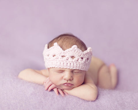 Knit Crown - Pink