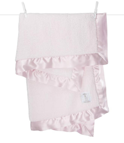 Chenille Baby Blanket - Pink