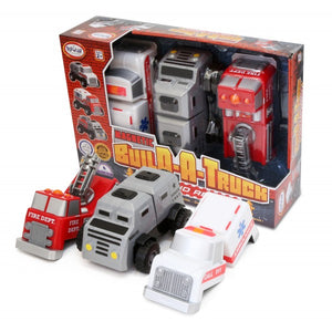 Magnetic Build a Truck, Rescue Vehicles
