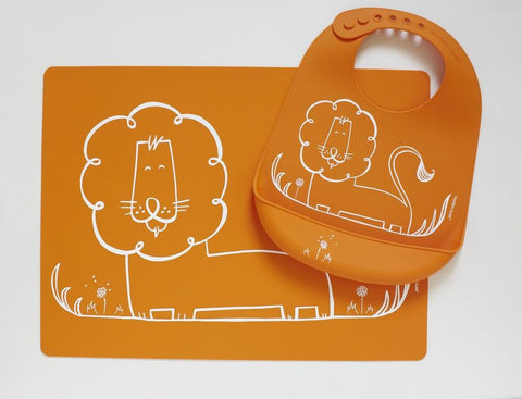 Meal Mat: Dandy Lion - Orange