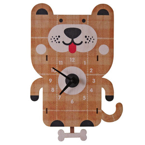 Pendulum Clock, Dog