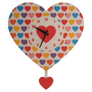 Pendulum Clock, Heart