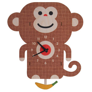 Pendulum Clock, Monkey
