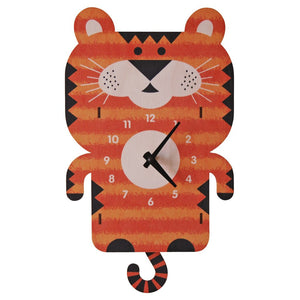 Pendulum Clock, Tiger