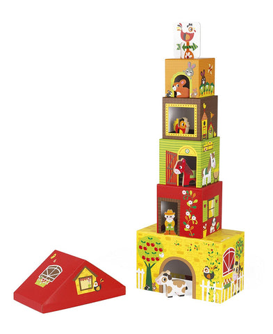 MultiKub Farm Stacker W/ Figures