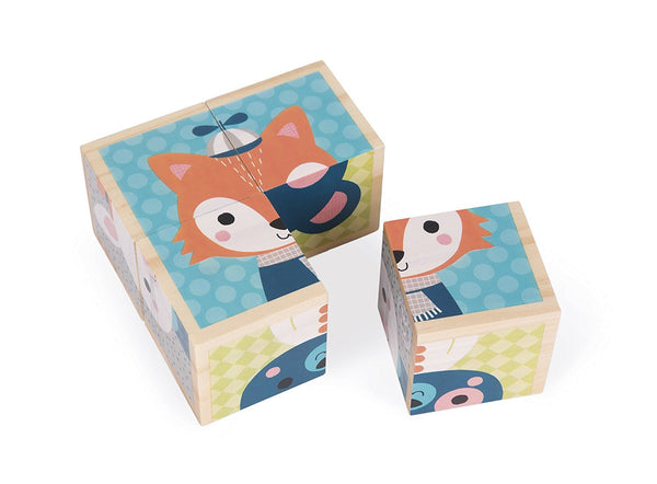 My First Blocks Forest Portraits Baby Toy