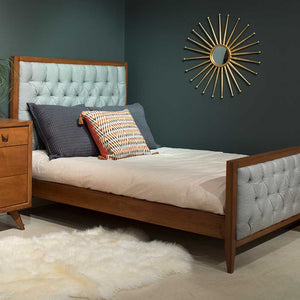 Skylar Bed with Tufted Panels