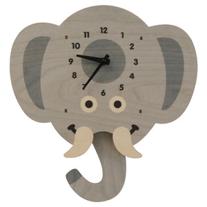Pendulum Clock, Elephant Head