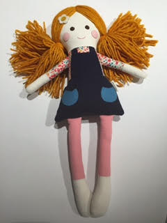 Handmade Keepsake Doll - Poppy