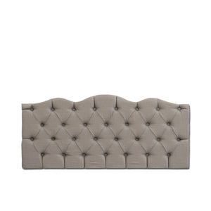 Tufted Panel Beige Linen