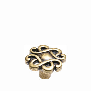 Celtic Knot Bronze Knob