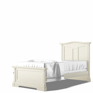 Imperio Twin Bed Bianco Satinato