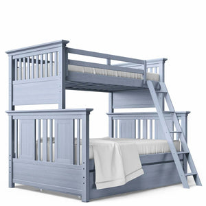 Twin Over Full Bunk Bed Navy