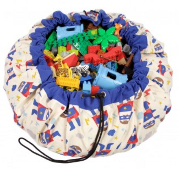 Play & Go - Toy Storage Bags - Superhero Print