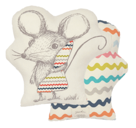 Sleepytime Mouse Pillow