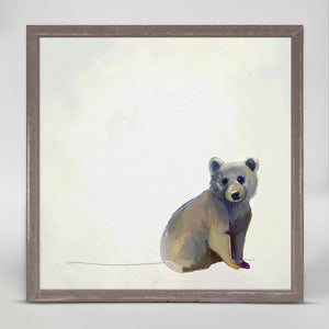 Baby Bear Sitting Mini Print 6x6