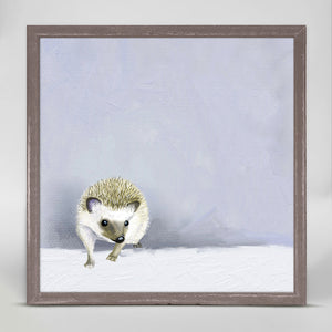 Baby Hedgehog Mini Print 6x6