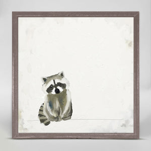 Baby Raccoon Mini Print 6x6
