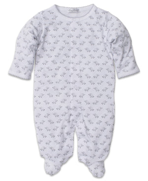 Baby Trunks Footie, Silver