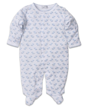 Baby Trunks Footie, Blue
